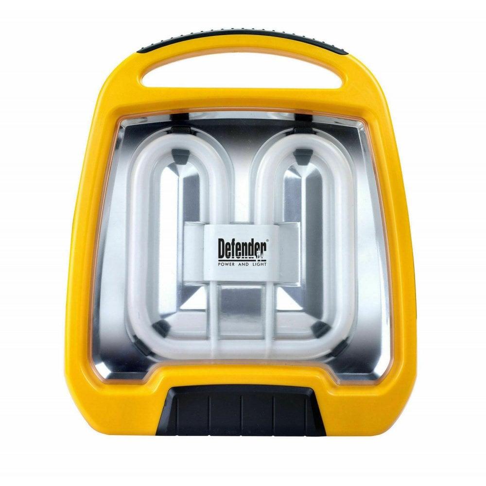 Defender 2d Floor Standing Carry Task Site Light 38w Fluorescent 110 240v Tools From Build Plumb Materials Online Uk