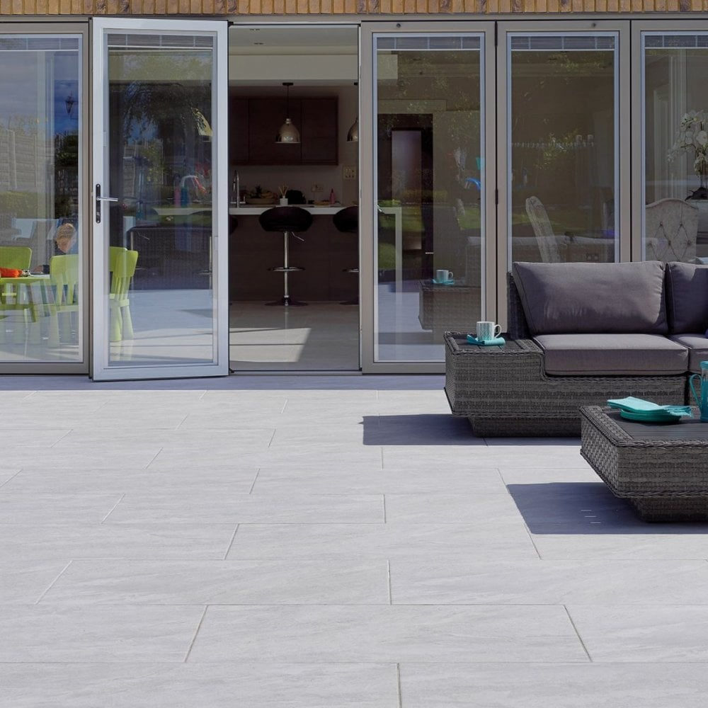PAVESTONE Dolomite Porcelain Paving (1000 x 500 x 20 mm) - Landscaping from  Build & Plumb Materials Online UK