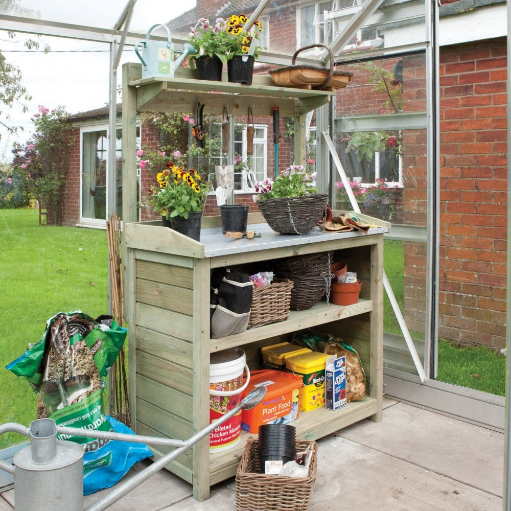 Rowlinson Grow-Your-Own Premier Potting Station 1030MM ...