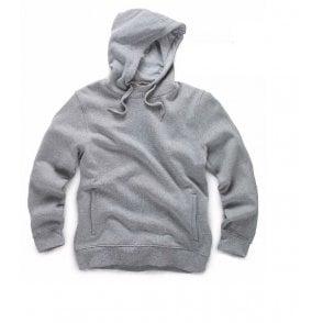 Scruffs NAVY VINTAGE FLEECE Zip Thru Jacket Concealed Hoodie