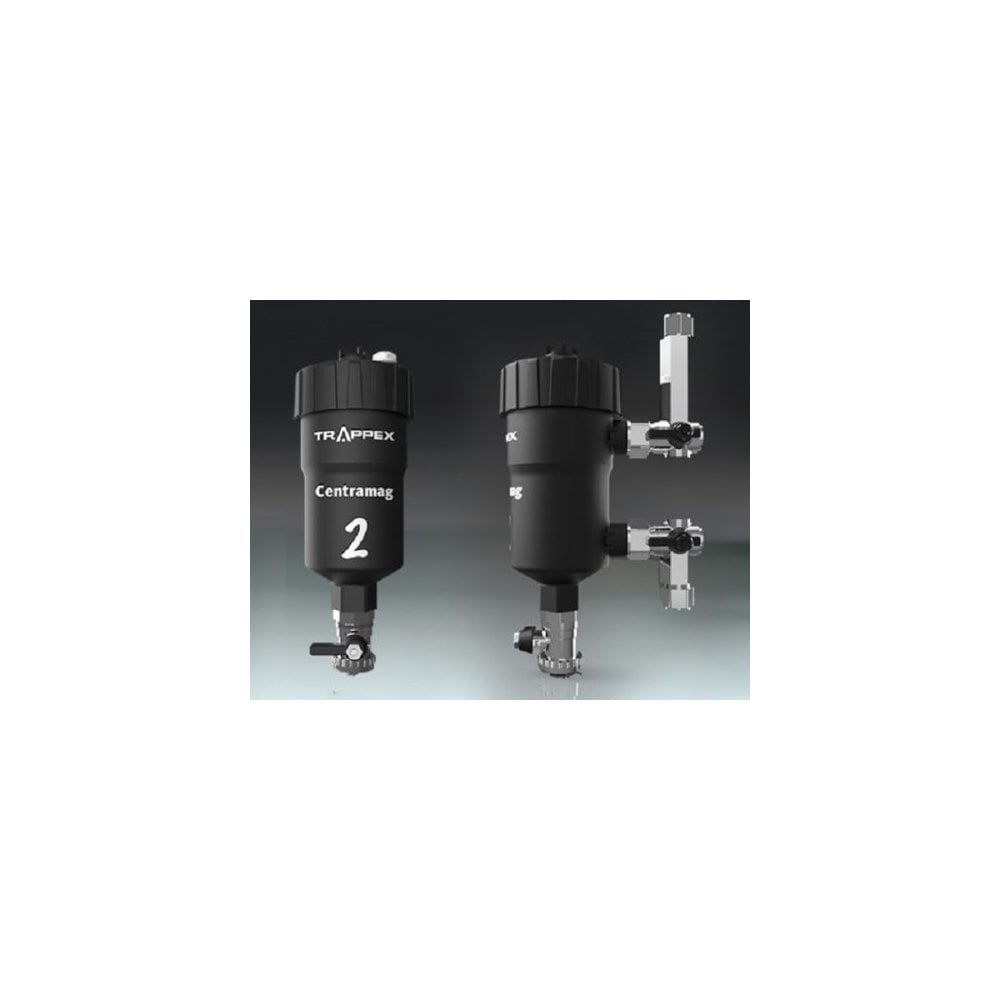 Trappex Centramag 2 Central Heating Dirt Separator Magnetic Boiler Filter 22mm