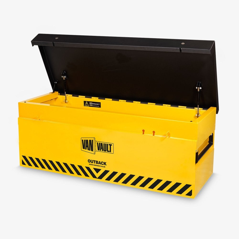 65f37ae8f83fa0 Outback - Secure Tool Storage Box For Pickups Flat Beds 1335X558X490mm